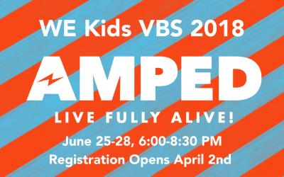 VBS Registration 2018