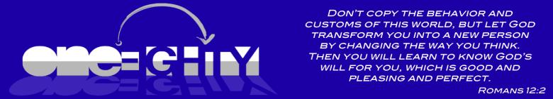 OneEighty Logo & Verse