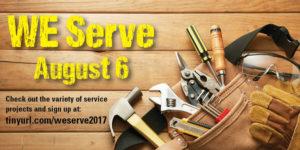 WE Serve Sunday