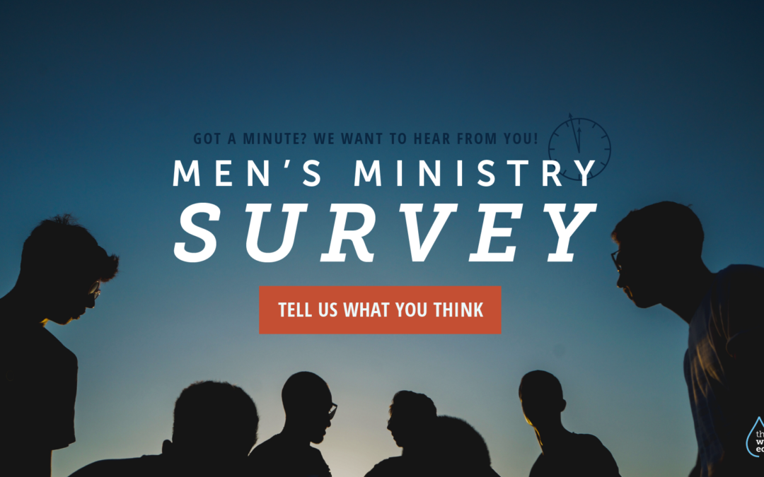 Men's Ministry Survey for Fall 2018