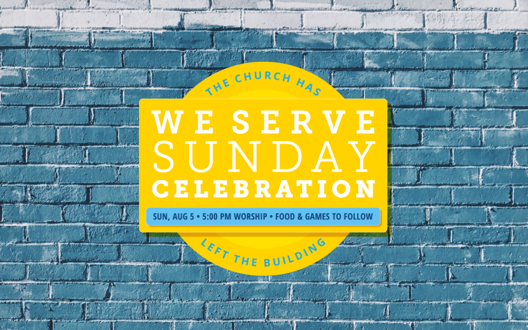 WE Serve Sunday 2018 Celebration