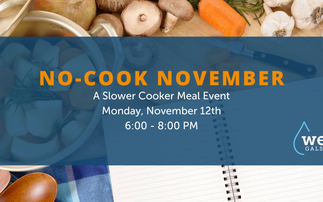 WE GALS No-Cook November