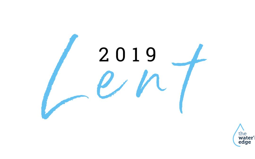 Lent 2019 Devotions & Resources
