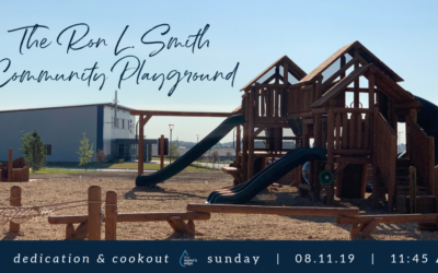 Ron L. Smith Community Playground Dedication & Cookout
