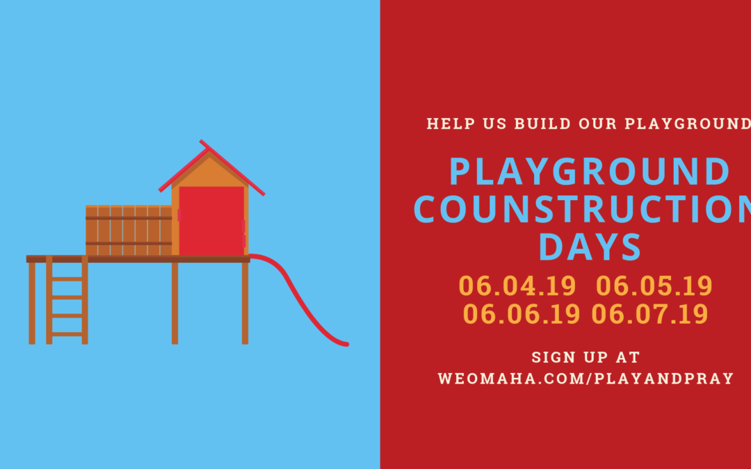 Playground Construction Help Needed