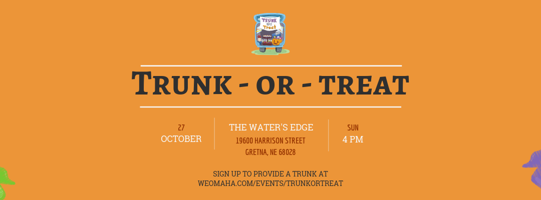 Trunk-Or-Treat Volunteers & Donations Needed