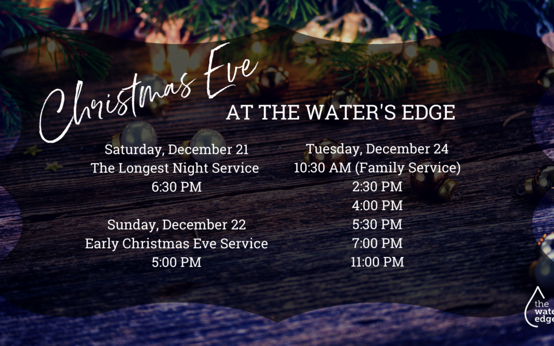 Christmas at The Water's Edge