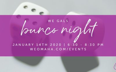 WE GALS Bunco Night