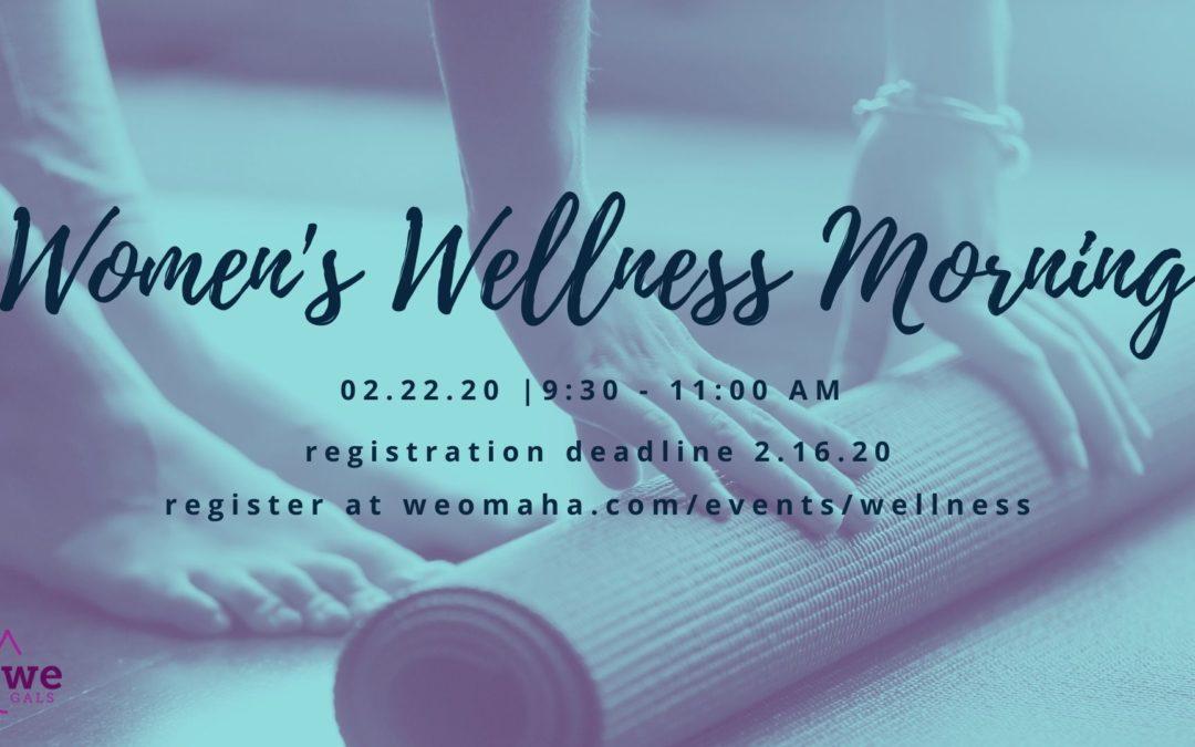 Women's Wellness Morning