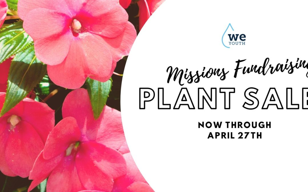 WE Youth Plant Sales