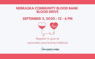 Nebraska Community Blood Bank Blood Drive