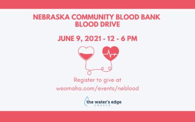 Nebraska Community Blood Bank Blood Drive
