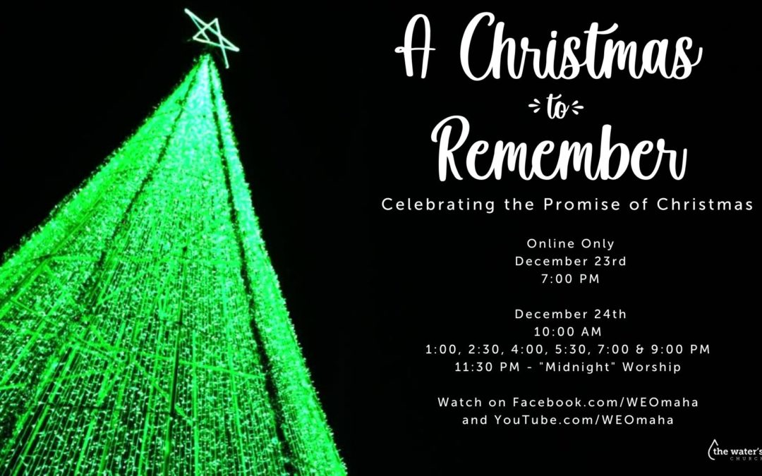 A Christmas To Remember – Christmas Eve 2020